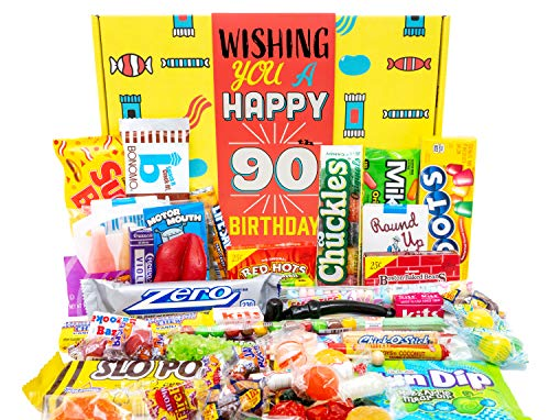 Happy 90th Birthday Candy Gift Basket