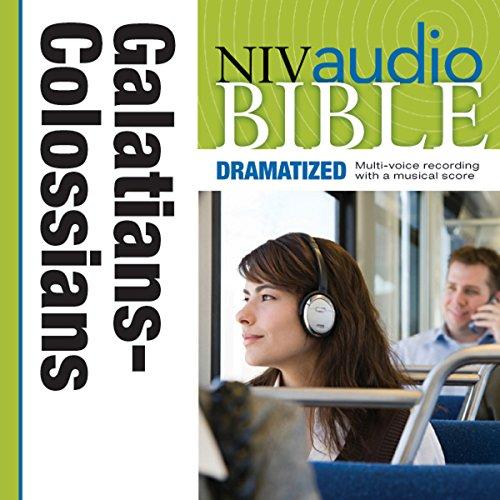 Dramatized Audio Bible - New International Version, NIV: (36) Galatians, Ephesians, Philippians, and Colossians audiobook cover art