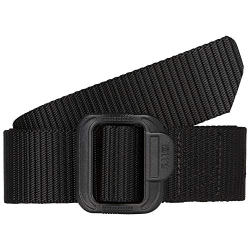 5.11 TDU Tactical Belt, Non-Metal, 1.5-inch, Black, Style 59551, Large
