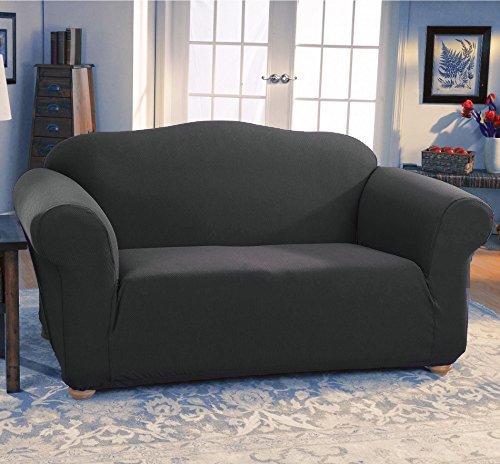 Fancy Linen 2pc sofa cover jersey strech Grey New