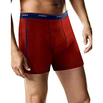Hanes Men s Cool Dri Tagless Boxer Briefs with Comfort Flex Waistband Multipack 5-Pack Assorted X-Large