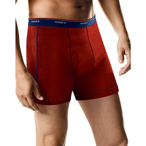 Hanes Men's Cool Dri Tagless Boxer Briefs With Comfort Flex Waistband, Multipack, 5 Pack - Assorted , Small