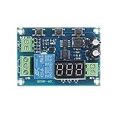 LKK-KK XH-M608 DC6-40V Módulo de Descarga de la Carga de la batería Unified Voltmeter Subesttensión y protección contra sobrevoltaje Tablero de Tiempo y Tablero de Descarga