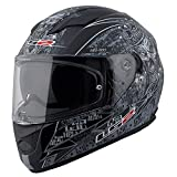 LS2 Helmets Motorcycles & Powersports Helmet's Full Face Stream (Matte Anti-Hero 2.0, XX-Large)