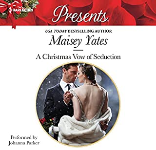 A Christmas Vow of Seduction audiobook cover art