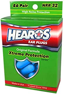 Sponsored Ad - HEAROS Xtreme Protection Series Ear Plugs, Blue, 56 Pair