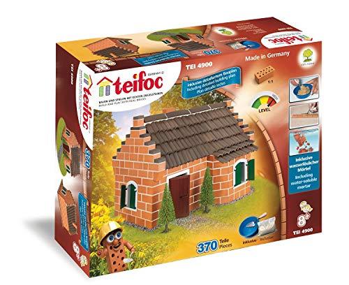 Teifoc TEI 4900 Steinbaukasten, bunt, Historisches Haus