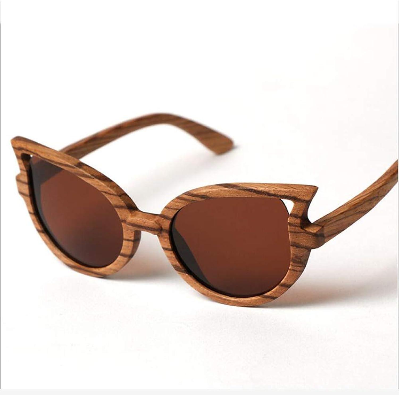 Sunglasses,Polarized Glasses,Women's Sunglasses,Wooden Glasses, Casual Trendy Sunglasses,Riding Polarized Sunglasses,Zebrawood