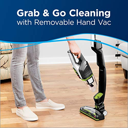 Bissell Adapt XRT Pet 14.4V Lithium Ion Cordless Stick Vacuum Cleaner, Green, 2387