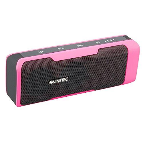 NINETEC POWERBEAT Altoparlante Bluetooth - Powerbank e Radio integrati.