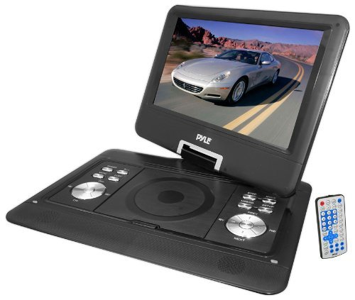 Check Out This Portable, Pyle Home PDH14 14-Inch Portable TFT/LCD Monitor with Built-In DVD Player M...