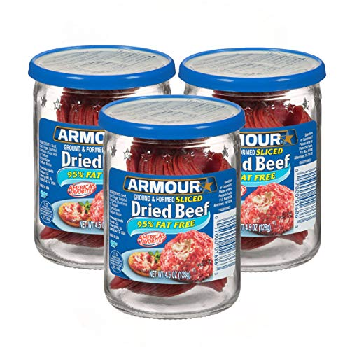 Armour Star Sliced Dried Beef, 4.5 oz. | Pack of 3