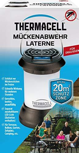 ThermaCell Mückenabwehr Laterne gegen Stechmücken Mückenschutz
