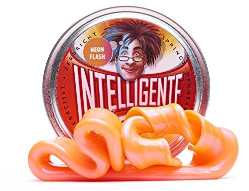 Intelligente Knete Spezial-Farben (Neon Flash) BPA- und glutenfrei