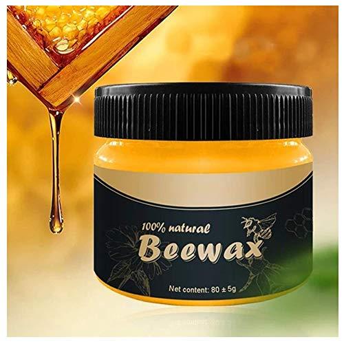 Möbelpflege Bienenwachs, Wachs Möbelwachs Möbel Regenerator, Holzpflege Bienenwachs Möbelpflege Bienenwachs Poliermittel Reinigungsmittel, 100% Natürlichem Bienenwachs (20g)