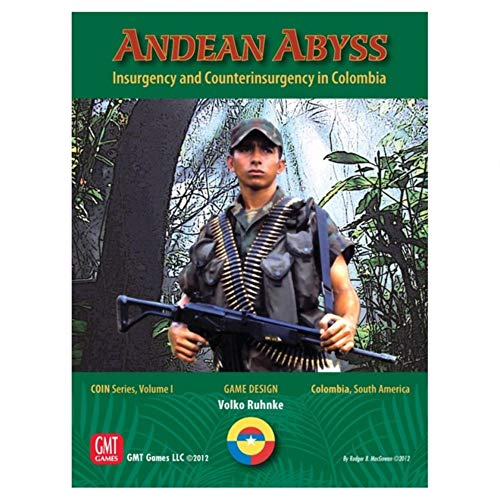 GMT Games Andean Abyss - Coin Series Volume 1 Game - English