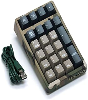 FILCO Majestouch TenKeyPad 2 Professional Cherry Mx青軸 USBポータブルメカニカルテンキーパッド カモフラージュ FTKP22MC/CR2