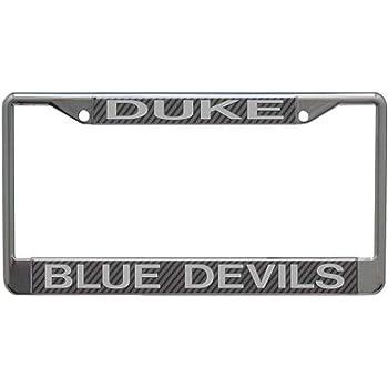 NCAA Duke Blue Devils License Plate Frame Alumni Wincraft S85369
