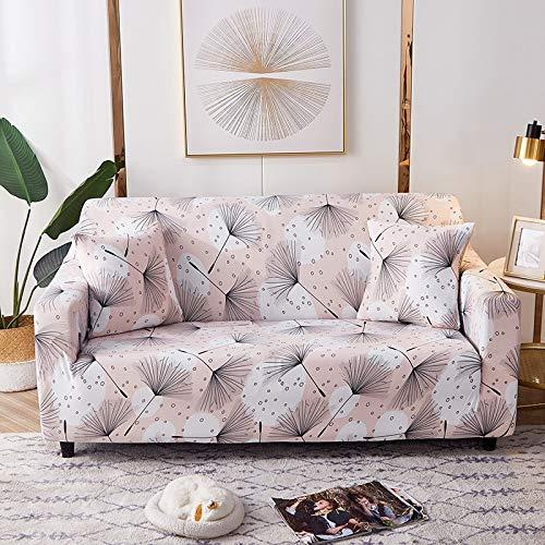 Fundas elásticas geométricas para sofá, Fundas elásticas para sofá para Sala de Estar, Funda para sofá, Silla, Funda para sofá, decoración del hogar, A10, 4 plazas