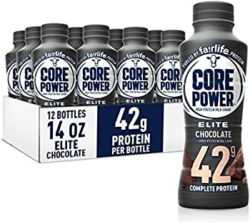 12-Pack Core Power Elite High Protein Shakes (Chocolate)
