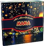 MAMA Adventskalender mit Instant Nudeln aus Thailand, Weihnachtskalender mit festlichem Motiv, lecker und dekorativ, Ideal zum Verschenken (1 x 1240g) -