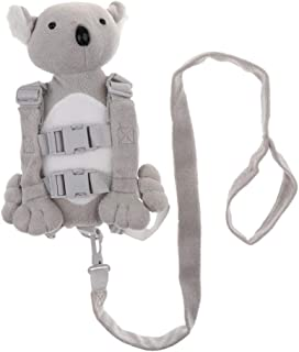 Prettyia Kid Anti-Lost Leash Toddler Backpack with Safety Harness Playful Baby Diaper Bag - Bear, as described
