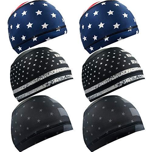 Alpurple Schweißableitende Helm-Liner, Kühlkappe, Laufmütze, Radkappe, Skull Cap, Helm Hard Hat Liner für Damen und Herren - - Medium