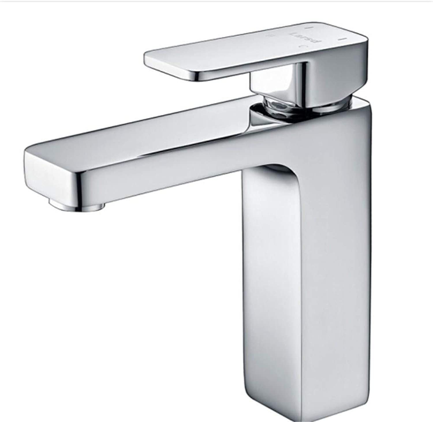 Water Tapdrinking Designer Archface Basin Faucet Cold and Hot Square Faucet Table Basin Bathroom Washbasin Faucet
