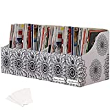 "Banish desk clutter! This set of 6 magazine file holders are great for organizing mail, catalogs, magazines, reports, file folders, and more. Store and file items long-term, or use as a narrow and unobtrusive ""in-box"" to help you keep track of bills,..."