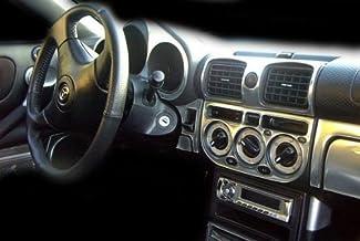 Toyota MR2 Mr2 Sr. 2 MK III Interior de Aluminio de Plata Dash Juego de Acabados Set 2000 2001 2002 2003 2004 2005