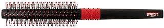 UPPERCUT DELUXE Quiff Roller Small Round Men's Hair Brush Non-Slip Grip, Black & Red