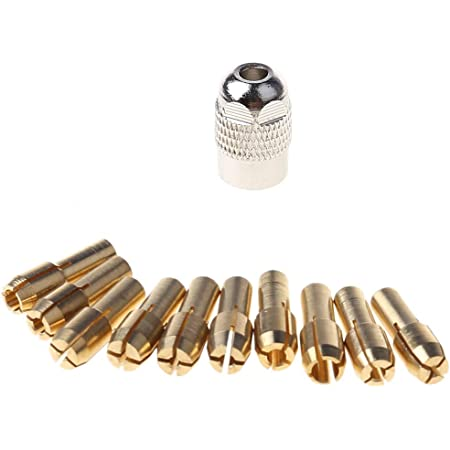 Multitool Collets Set4,3 mm0,5-3,2 mmMicro-Drill Drill Chuck