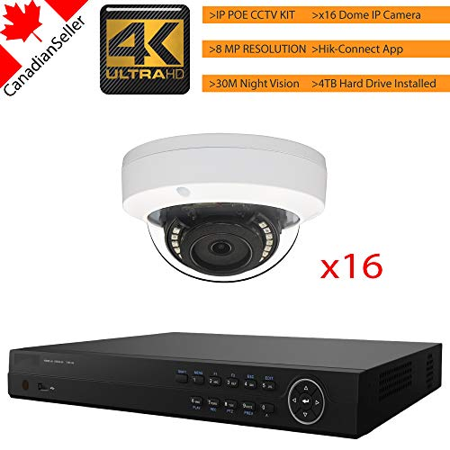 Check Out This Ultra HD 16 Channel H.265 4K NVR 8-Megapixel Security Camera System, 16 x 4K/8MP PoE ...