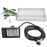 Conkergo Pantalla LCD Impermeable Panel de Pantalla eléctrica E? Kit de Controlador sin escobillas de Scooter (1000W 48V)