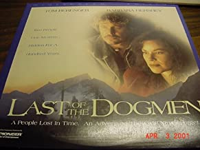 Laser Disc, Laserdisc of THE LAST OF THE DOGMEN With Tom Berenger and Barbara Hershey.