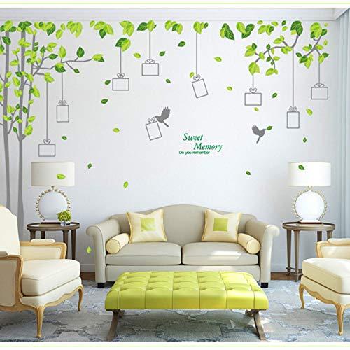 skwff Grote Foto Boom Frame Muurstickers Romantische Slaapkamer Achtergrond Klas Animatie Home Layout Stickers