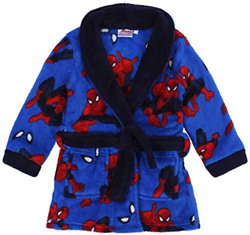 Een blauw-rode Spiderman Marvel badjas