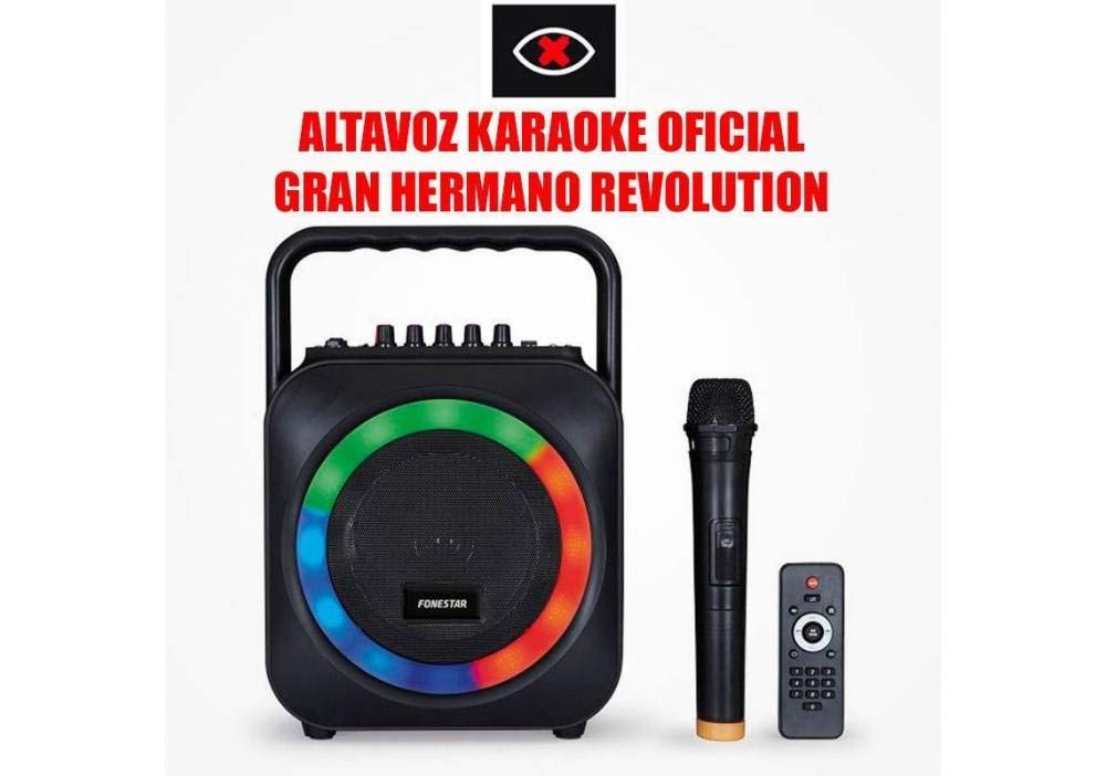 Fonestar BOX-35LED Altavoz PC, Negro: Fonestar-Sistem-Sa: Amazon ...