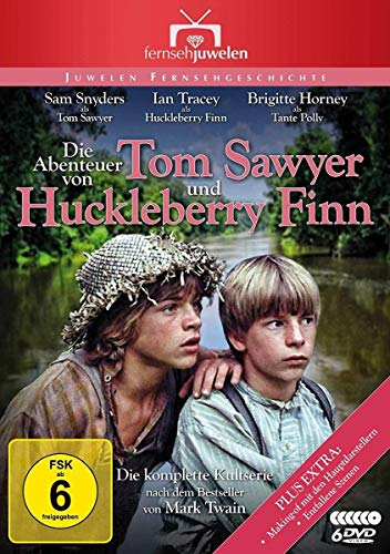Die Abenteuer von Tom Sawyer und Huckleberry Finn - Die komplette Serie [6 DVDs]
