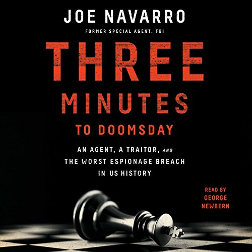 Three Minutes to Doomsday audiobook cover art