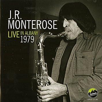 J.R. Monterose Live in Albany 1979