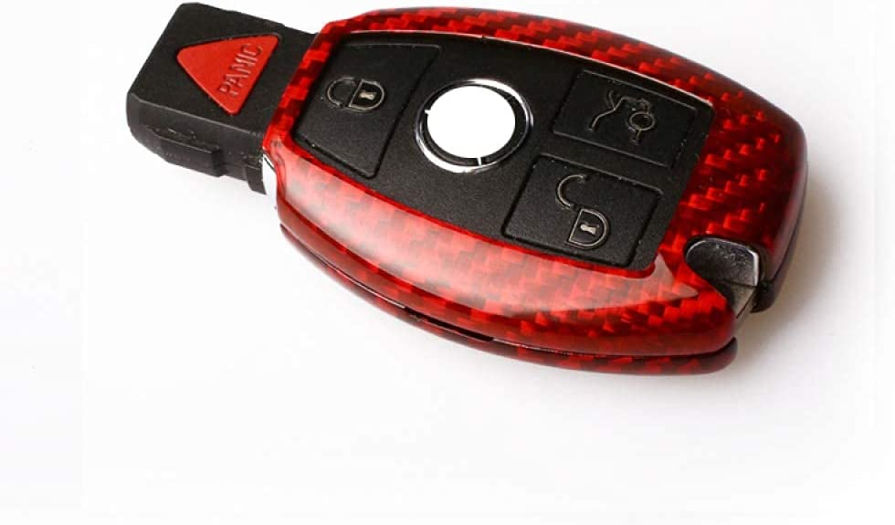 T Carbon Selling Glass Fiber Car Key Fob Box Cover Fit Credence Shell Case