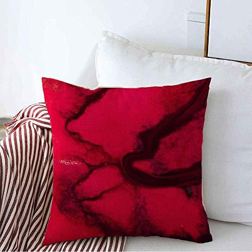 Funda de almohada decorativa Wet Hipster Water Fluido mineral negro de moda Aceite dibujado a mano Acuarela Arte líquido moderno Color Lino Fundas de almohada cuadradas para sofá Banco de 45 x 45CM