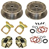 Wide Disc Brake Kit, 5 On 205Mm, Swing Axle, Short Spline, Compatible with Dune Buggy