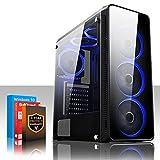 Fierce Gaming PC - AMD Ryzen 5 2600 3.9GHz, AMD RX 570 8GB, 8GB 3000MHz, 1TB Hard Drive, Windows 10 Installed...