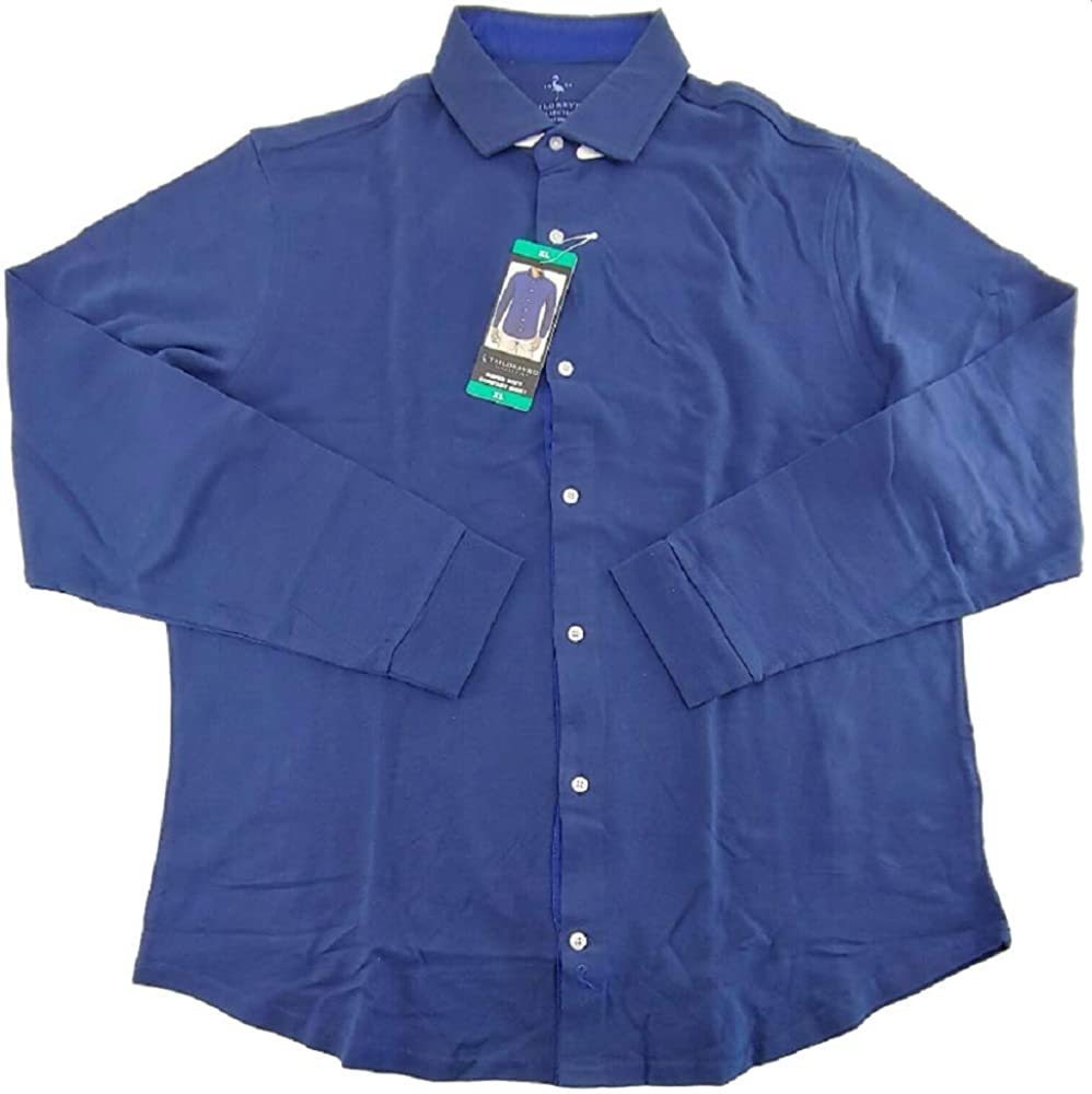 TailorByrd Men's Long Sleeve Super Soft Flannel Comfort Shirt