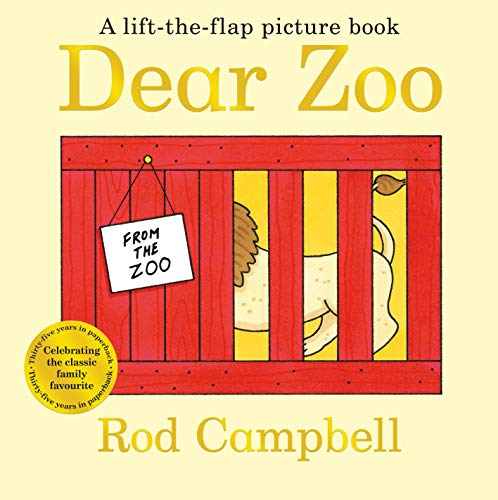 Dear Zoo (Lift the Flap Picture Book)の詳細を見る