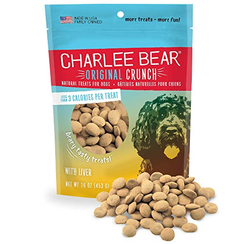 16-Oz Charlee Bear Original Crunch Natural Dog Treats (Chicken Liver) $3.50 + Free Shipping w/ Amazon Prime or Orders $25+