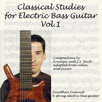 Classical Studies for Electric Bass Guitar, Vol.1
