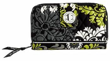Vera Bradley Turn Lock Wallet  Baroque